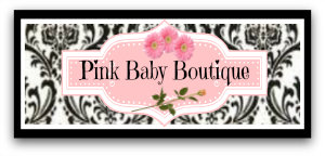 pink baby boutique logo